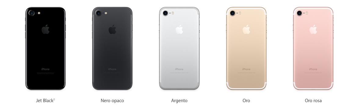 iPhone 7 e iphone 7 plus prezzi e data uscita Italia